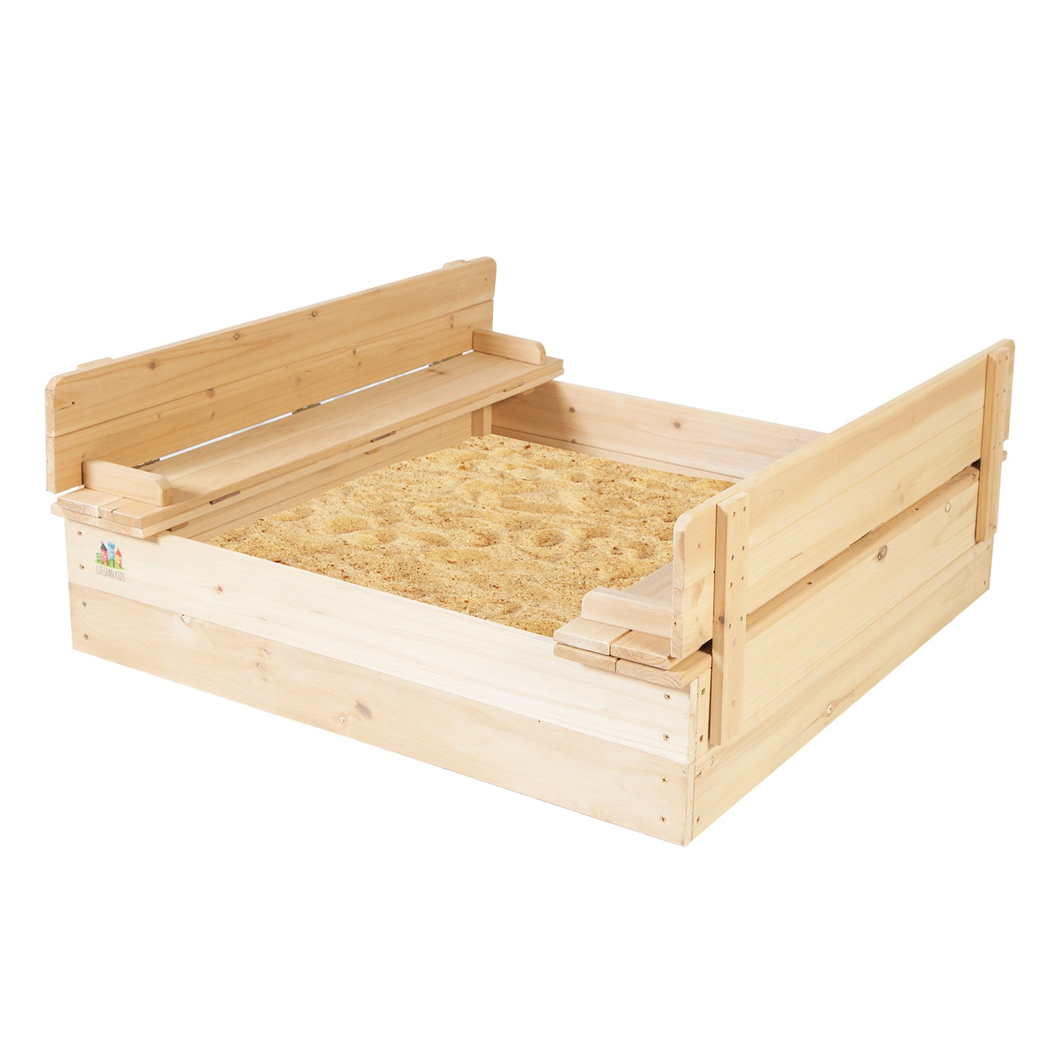 Lifespan Kids Strongbox 2 Square Sandpit