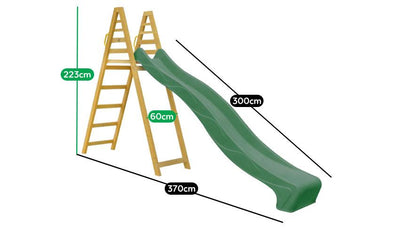 Lifespan Kids Jumbo Climb &  Green Slide