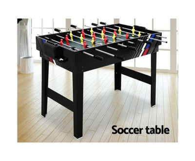 4-in-1 Table Games - Soccer Hockey Table Tennis and Pool Game