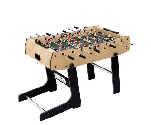 4FT Foldable Table Soccer Foosball