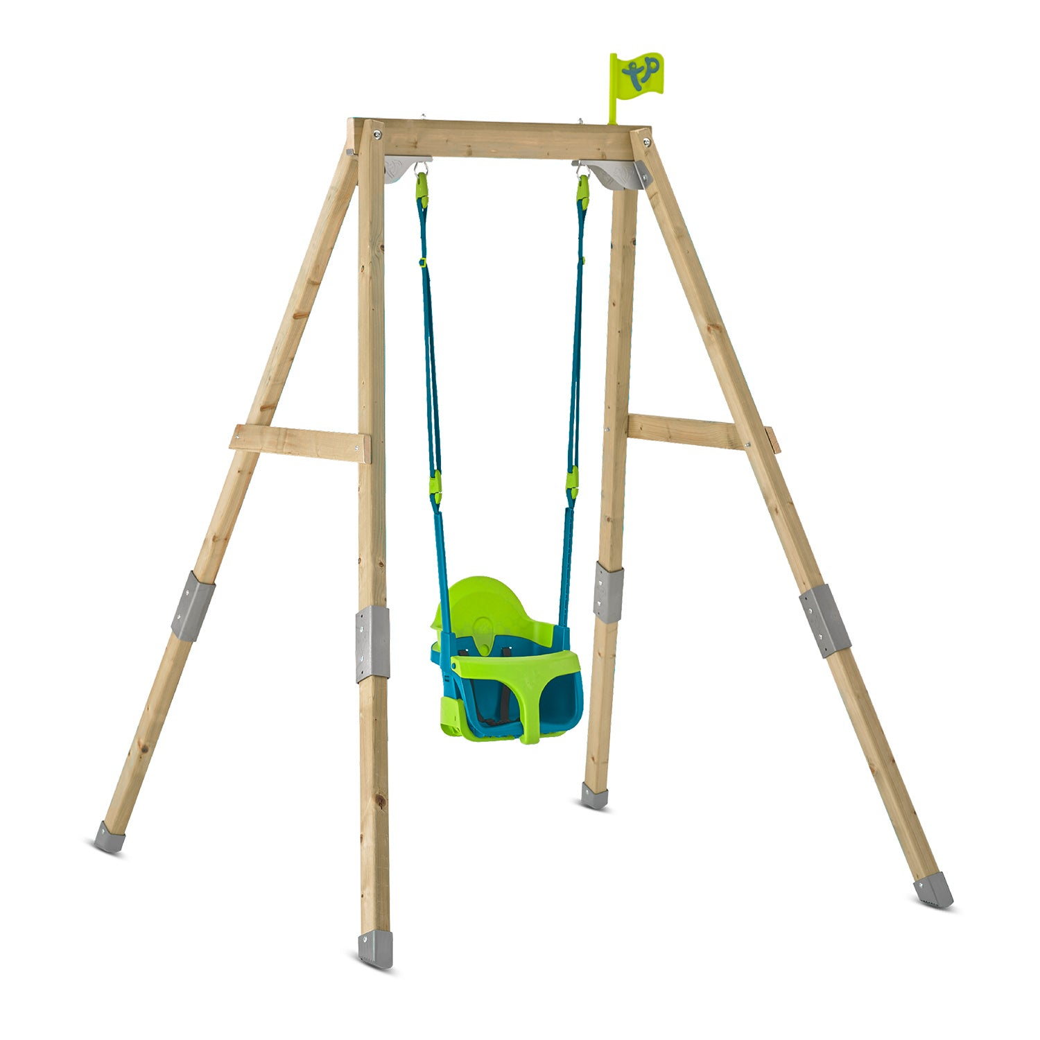 TP Toys Forest Acorn Growable Swing Frame with Quadpod Swing Seat