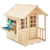TP Toys Deluxe Meadow Cottage Wooden Playhouse with Kitchen