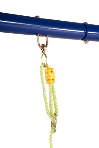 Image of Plum 5 in 1 Unit Metal Swing Set