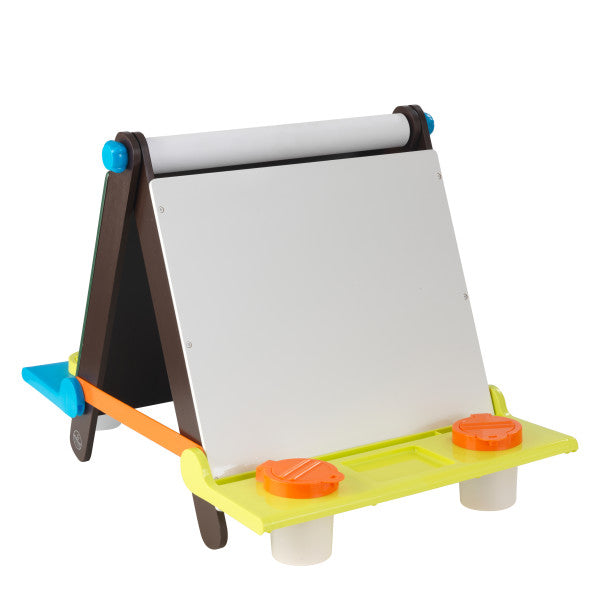Tabletop Easel - Espresso with Brights by Kidkraft