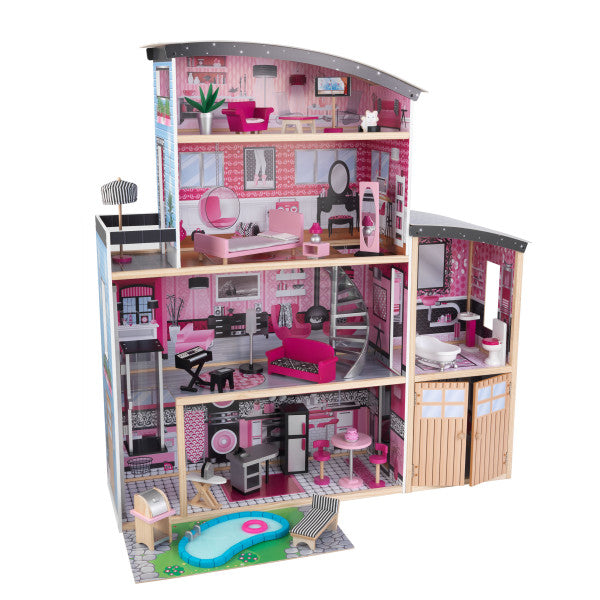 Sparkle Mansion Dollhouse by KidKraft