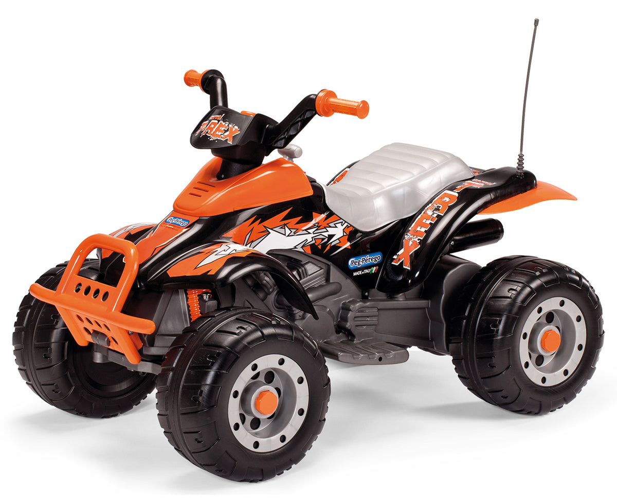 Peg Perego Corral T-Rex Quad Bike Orange 12V