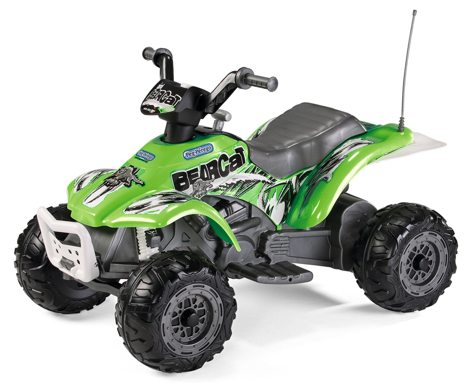 Peg Perego Corral Bearcat Quad Bike Green 6V