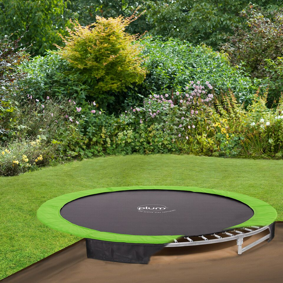 Circular In-Ground Trampoline 10ft