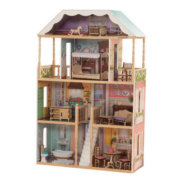 Charlotte Dollhouse with EZ Kraft Assembly™ by KidKraft