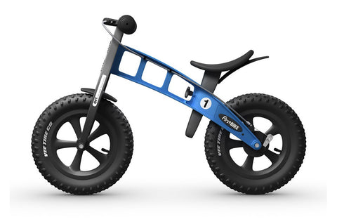 FirstBIKE FAT Cross WITH BRAKE BLUE