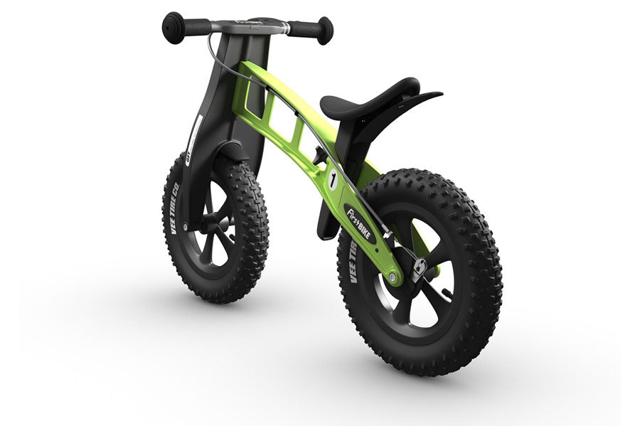 FirstBIKE FAT Cross WITH BRAKE GREEN