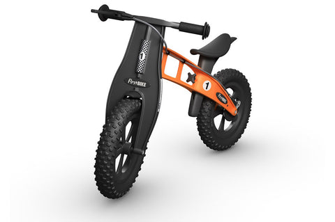Image of FirstBIKE FAT Cross WITH BRAKE ORANGE