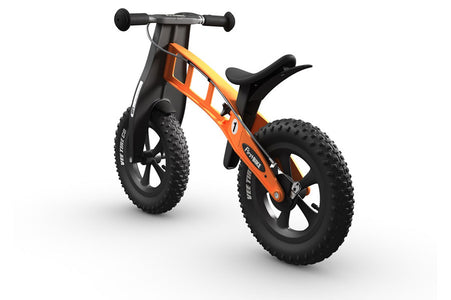 FirstBIKE FAT Cross WITH BRAKE ORANGE