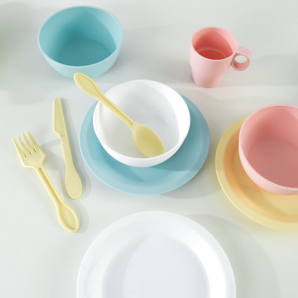 27-Piece Pastel Cookware Playset by KidKraft