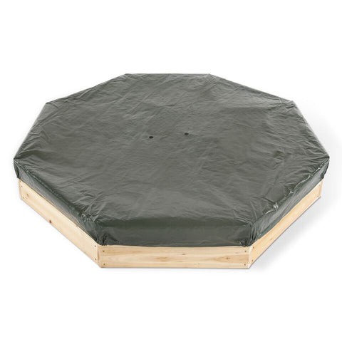 Giant Octagonal Sand Pit (Natural) by Plum Play