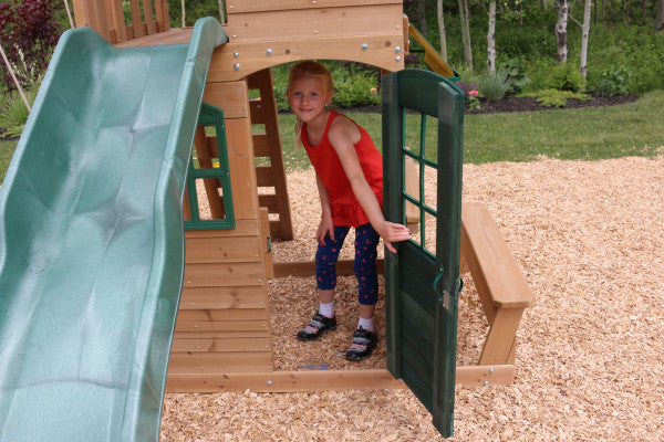 Windale Climbing Frame Outdoor Wooden Play Center by Kidkraft