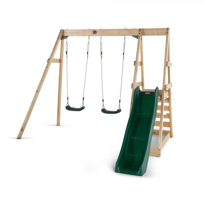 Tamarin Wooden Swing Set by PlumPlay