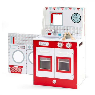 3-in-1 Cabin Kitchen, Diner and Theatre by Plum Play