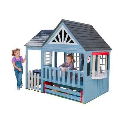 Timber Trail Wooden Outdoor Playhouse by Kidkraft