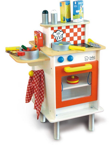 Double Sided Large Kids Kitchen with Accessories