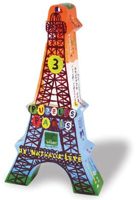 Eiffel Tower 3 Puzzles by Natalie Lete