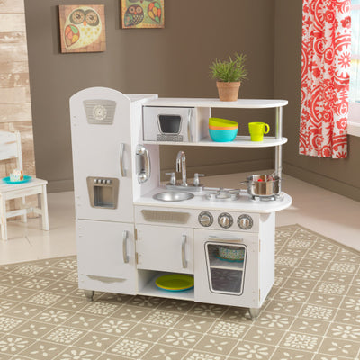 Vintage Play Kitchen - White by KidKraft