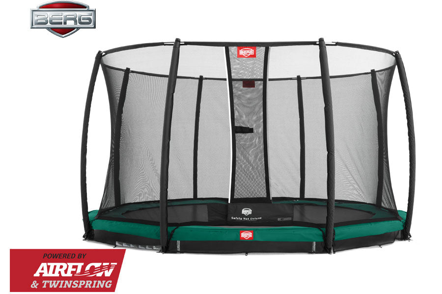 BERG In Ground Champion Green + Safety Net Deluxe