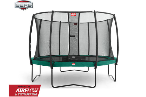 Berg Champion Green + Safety Net Deluxe