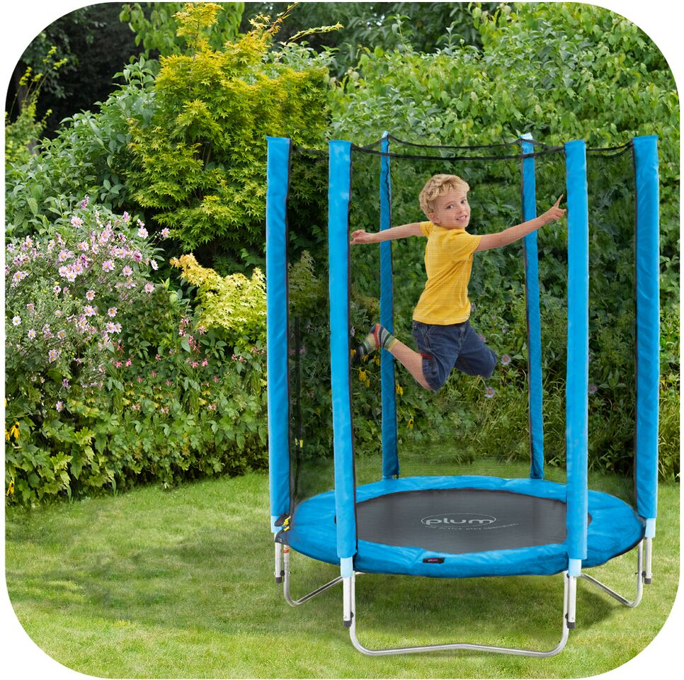 Junior Trampoline - Blue 4.5ft