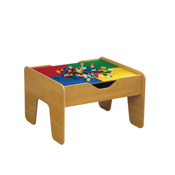 2-in-1 Activity Table with Board - Natural by KidKraft