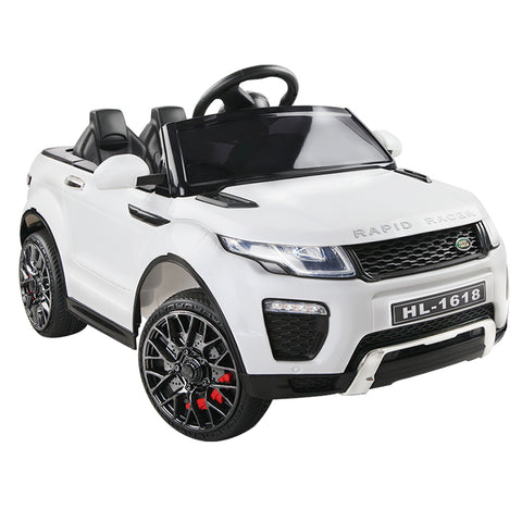 Kid's Electric Ride on Car Range Rover Evoque Style - White