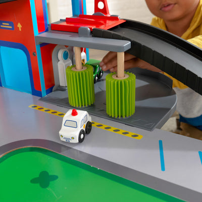 Freeway Frenzy Raceway Set and Table by KidKraft