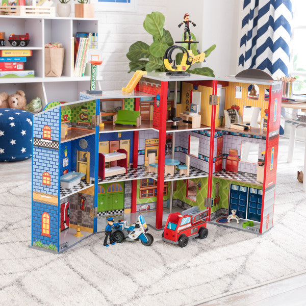 Everyday Heroes Wooden Playset by KidKraft