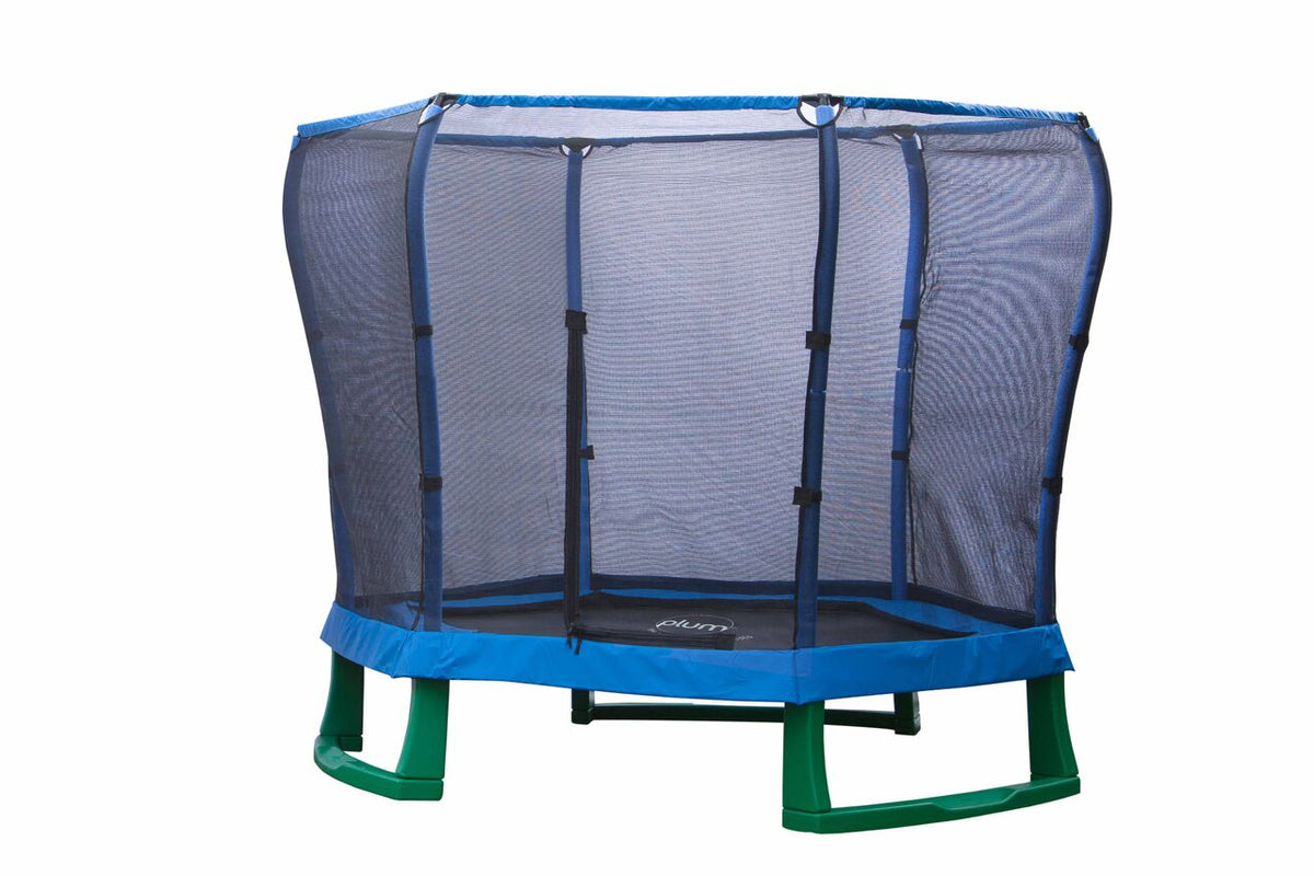 Junior Jumper Trampoline - Blue 7ft
