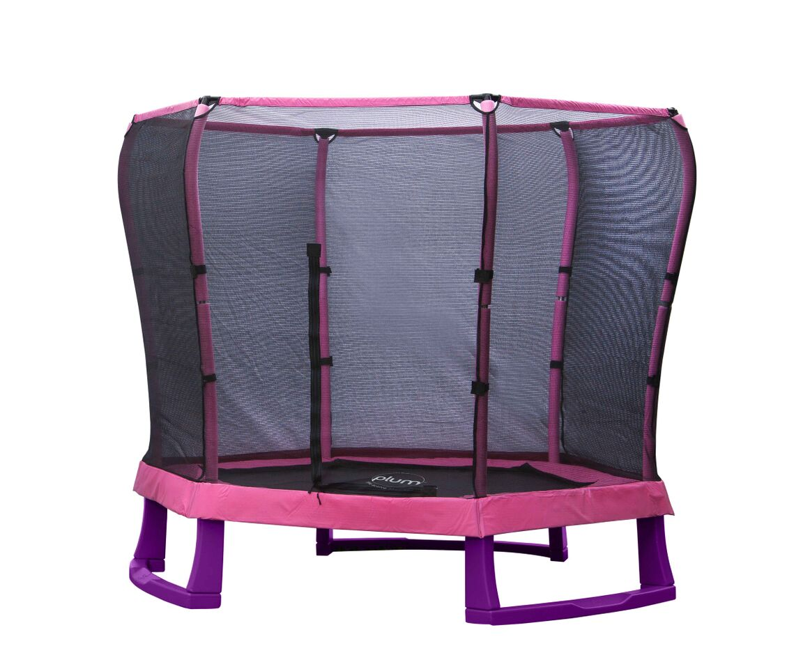 Junior Jumper Trampoline - Pink 7ft