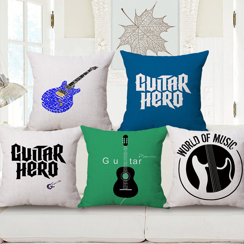 Guitar Cushion Cover - Great Guitar Gifts