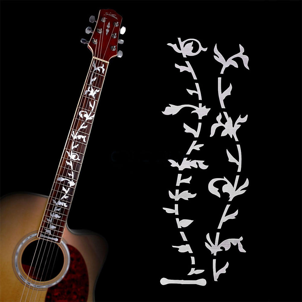 Tree of Life Ultra Thin Guitar Fretboard Inlay Sticker - Great Guitar Gifts