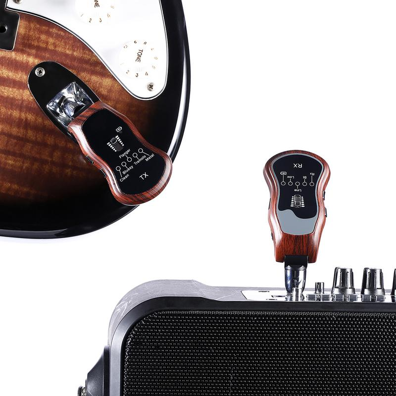 Wireless Guitar Transmitter Receiver With Effects