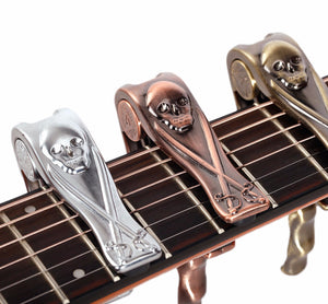 Skull Capo - Great Guitar Gifts
