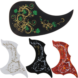 Hummingbird Pattern Acoustic Guitar Pickguard - Great Guitar Gifts
