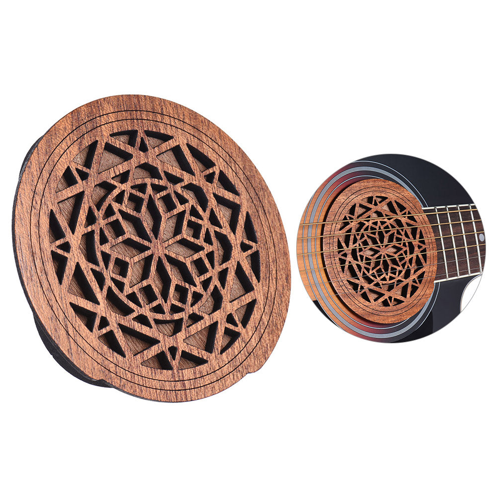 Wooden Soundhole Cover - Great Guitar Gifts