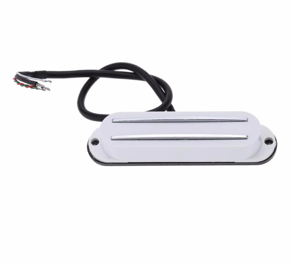 Dual Hot Rail Single Coil Humbucker Pickup - Great Guitar Gifts