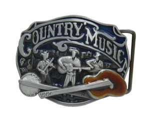 Country Music Guitar Belt Buckle - Great Guitar Gifts