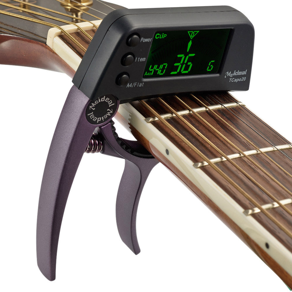 2 in 1 Tuner Capo - Great Guitar Gifts