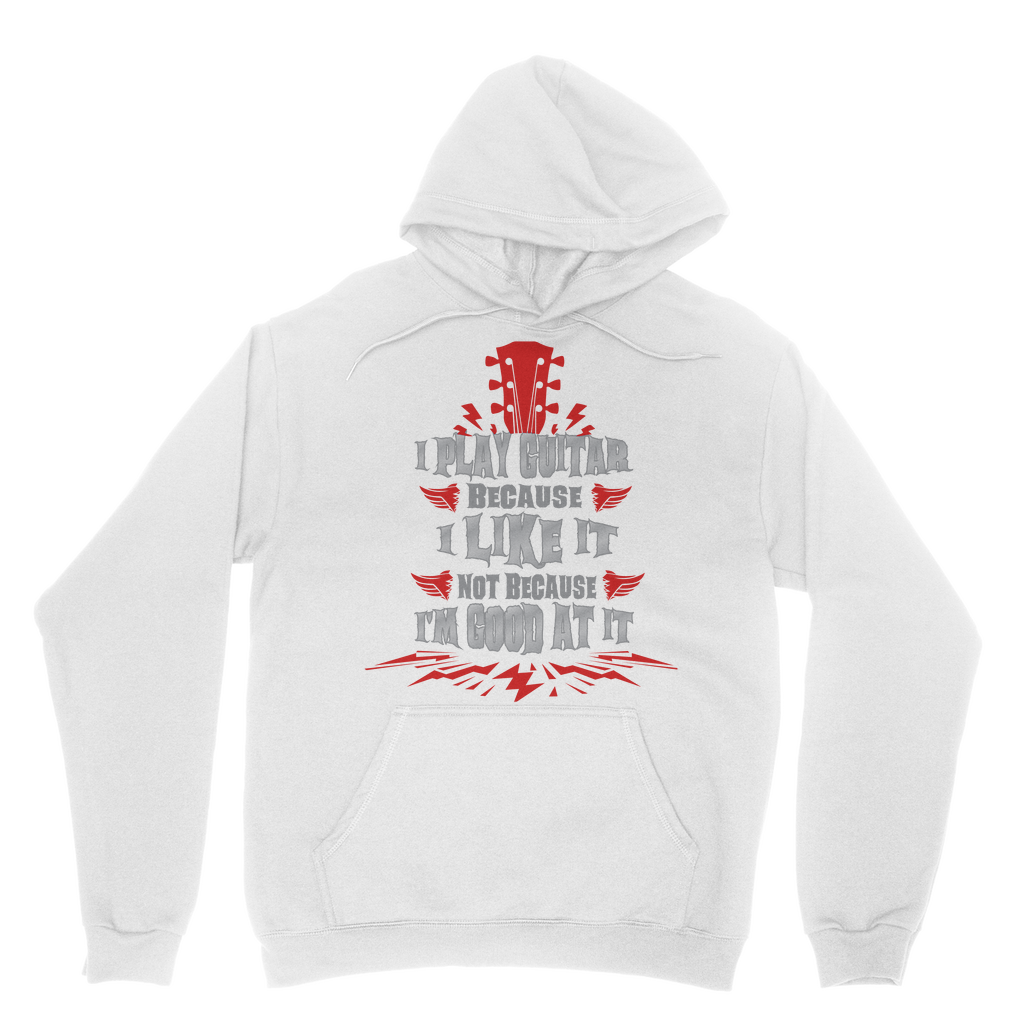 I Play Because I like it - Red Classic Adult Hoodie