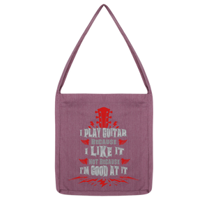 I Play Because I like it - Red Classic Tote Bag