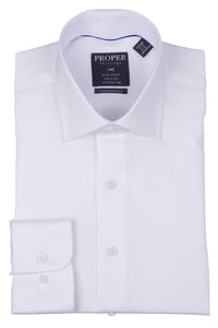 Proper Shirtings - Lavender - Dress Shirt - 100% Cotton - 100's 2-ply - Wrinkle Free - Contemporary Fit