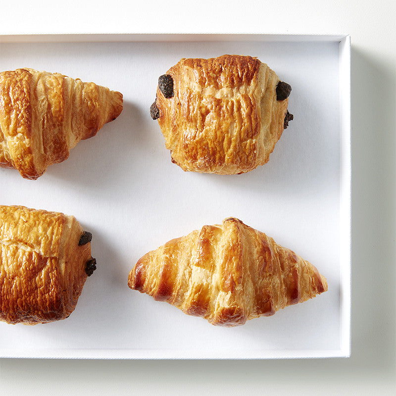 Assortiment de 10 mini-viennoiseries en coffret