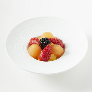 Verrine de fruits de saison (salade de fruits)