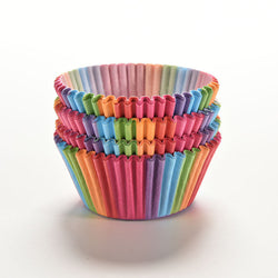 Rainbow Cupcake Baking Cups